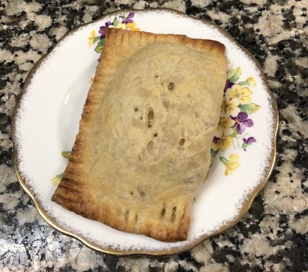 Leek and Potato Pasty